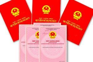 Thủ tục cấp sổ đỏ không quá 30 ngày, quy trình và hồ sơ cấp sổ đỏ