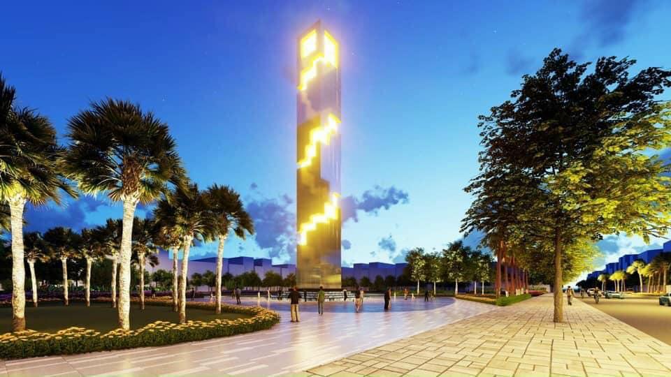 Quy hoạch tháp đồng hồ lớn nhất Đông Nam Á trong dự án