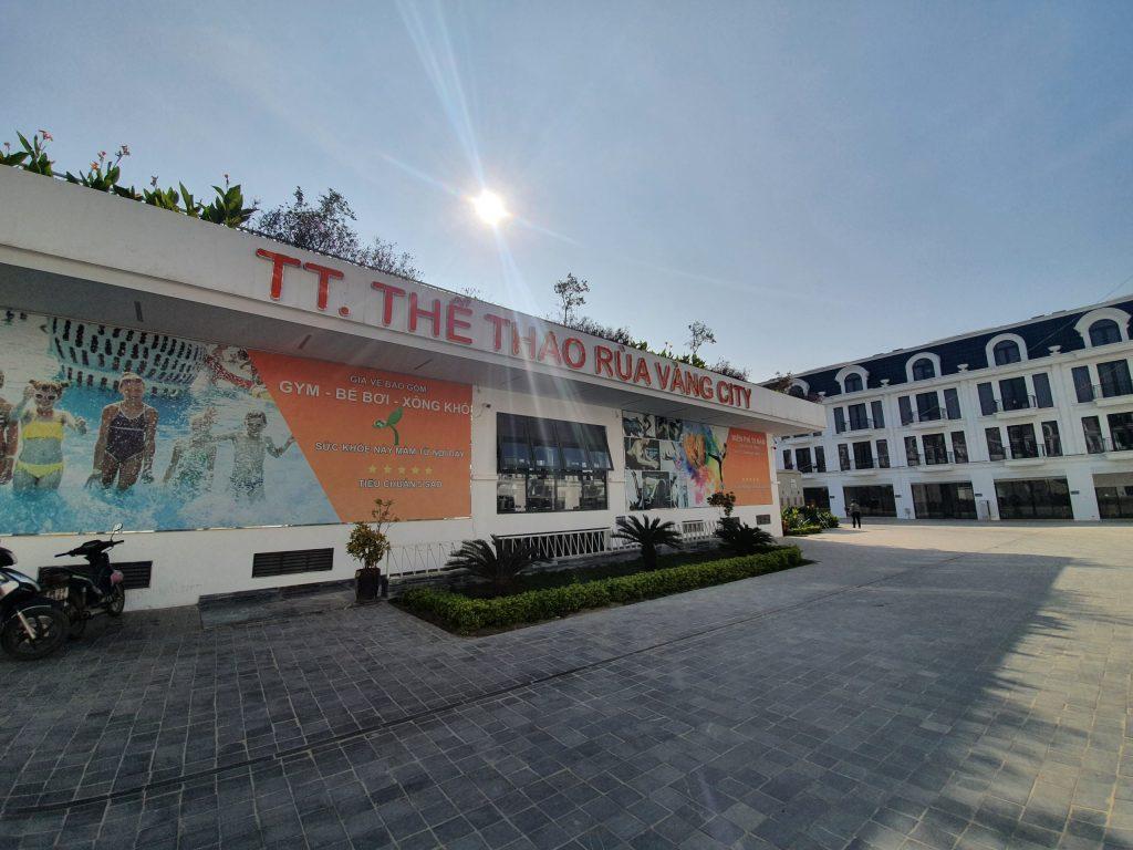Trung tâm thể thao Rùa Vàng City đã đi vào hoạt động