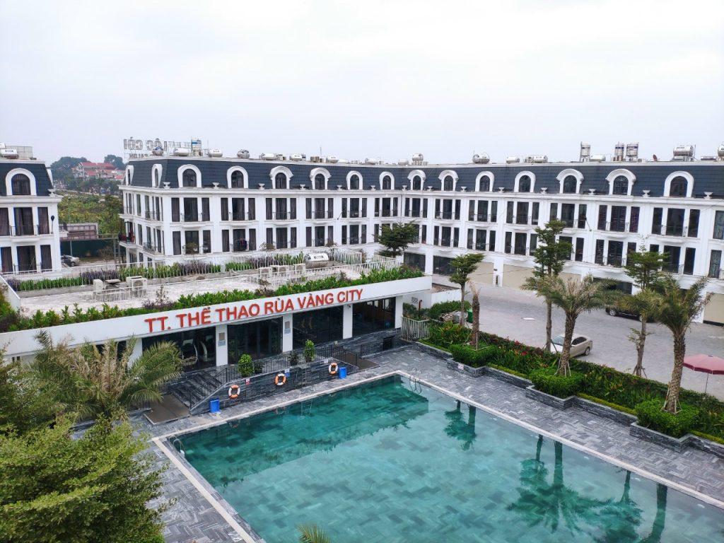 Bể bơi thể thao khu đô thị Rùa Vàng City đã đi vào hoạt động