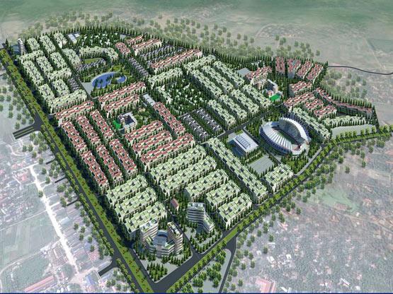 Măt Bằng khu đô thị Rùa Vàng City - khu đô thị Phía Tây Thị Trấn Vôi